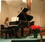 Piano Recital Ideas / Piano Recital Themes, Stationary, Decor, Musical Food and more!