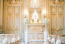 French Wedding Inspiration / French Wedding Inspiration for destination wedding in France. Wedding ideas and colour themes to use for your French themed wedding planning.