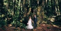 Forest, Rustic & outdoor weddings / Inspiration for forest, country and all outdoor weddings. For the bride looking for an organic look, grassy locations, the mountain bride or somewhere outdoors for an elopement or a small wedding.