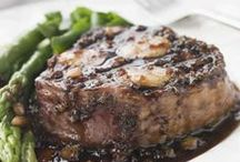 STEAKS ~BQ/GRILL/PAN/SLOW-COOKER / by Barbara Edwards