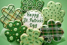 ST PATRICK'S DAY Party  / am páirtí  - IRISH BLESSINGS :   May you always have walls for the winds, a roof for the rain, tea beside the fire, laughter to cheer you, those you love near you, and all your heart might desire. / by Barbara Edwards