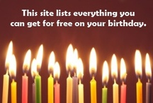 birthdays / by Tara Hobbs