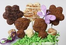 Cookie Arrangements / Christy's Gourmet Gifts | A great alternative to traditional flowers - and a lot sweeter! :)