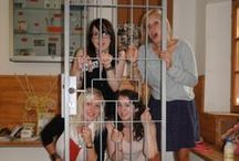 Celica check-in profile / Guests taking their shots behind bars at check-in or check-out #hostelcelica