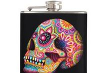 Drink up! / Whether it's juice, water, or a bit of the hot stuff, these flasks will hold it all in style. All artwork is copyrighted to it's respective owners all rights reserved. PLEASE ONLY POST FLASKS TO THIS BOARD. ALL OTHER PINS WILL BE REMOVED.