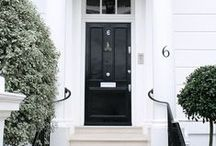 Homes // Entryways + Porches