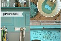Chalk Paint® Color Collages / See what you can do with your next Chalk Paint® project with our color collages. Each paint is utilized in a multitude of ways to give you ideas and keep you inspired!