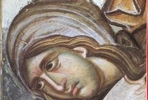Fresco / frescos from Christian orthodox churches