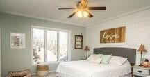 Farmhouse: Master Bedroom / The Eco Chic Farmhouse Project: Master Bedroom Edition! Need ideas of how to transform the space that will wake you up and put you to sleep? Check out simple and budget saving tips here:http://iloveecochic.com/2015/12/the-farmhouse-project-master-bedroom/
