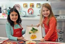 Kids in the Kitchen with Bridgford!  / Get those kiddos in the kitchen! They will love our fun and easy recipes! Take pictures and pin your recreations, we'd love to see! #BridgfordFoods