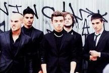 The Wanted / A board on five idiots who i call my heros x