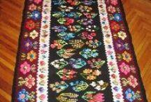 Antique Romanian Carpets /Rugs