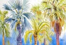 Karen's Key West Watercolors / These watercolors were painted plein air by Karen Beauprie. Enjoy!