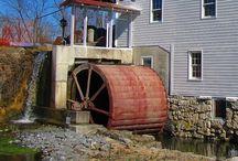 Old Water wheels.