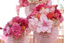 Floral Art/ Decorated Cakes. / Artistry in Flowers,     Also in Cake decorating.