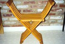 Furniture - středověký nábytek