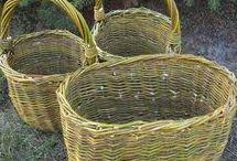 Weaving basket