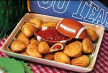 The Big Game with Bridgford! / Stay fueled while cheering on your favorite team - These yummy Bridgford snacks and appetizers are perfect for the big game! #GameDayFood #BridgfordFoods / by Bridgford Foods