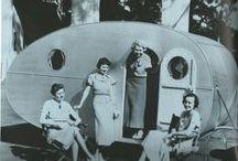 Vintage campervans