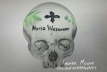 Drawings by me @LaurenMMUA / Some art i do in my free time