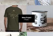 Mess Project \ Picks / Product collections. Design items that i like