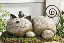 Ideas decoración jardín / Interesantes decorados para las zonas exteriores de tu hogar.