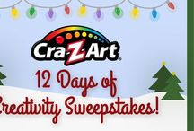 Win It! / Here you will find opportunities to WIN fabulous Cra-Z-Art products, and more! Check back often.