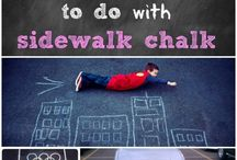 Chalk It Up! / Let's chalk it up to having - fun! Put your creative hats on folks and let's go Cra-Z-Art with chalk!