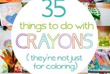 Everyday Arts and Crafts / Here you'll find fun and creative crafts, projects, and DIY ideas to do with the whole family.