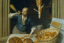 Medieval Food Art
