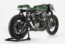 Bikes / Cafe racers, cruisers, choppers, sport bikes, customs and more. / by William Marx Purper