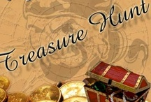 A PinChest Treasure Hunt / We need to fill our PinChest!  A pin will be posted in which to find 4 pins related to that pin but not not the same.   The Treasure Hunter who has the most repins/likes on any one of their pins will be our winner.  We will use the winners pin to treasurer hunt the next game.  Game will begin when we have at least 5 players.  If you would like to be added to play this game please comment in the add me box below.