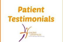 Patient Testimonials / My passion is getting you healthy. Read what some of my clients have had to say about their health after working with me.
