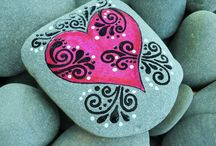Painted stones and rocking it.... / Love, love, love painted stones......To my followers,and those that I follow, I love the inspiration you have ALL given me :) / by Loves Pinterest