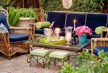 Outdoor Living Spaces / Inspiration for outdoor living spaces.