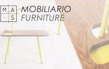 MAS · Mobiliario / Una muestra de muebles diseñados por nosotros. Propuestas de mobiliario que responden a las necesidades concretas de cada proyecto.