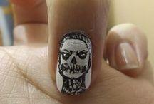 nails by me / manicura hecha por mi para mi
