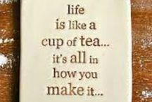 Thee momenten / Wanneer drink jij je thee?