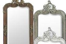 spiegels  mirrors / Wij verkopen spiegels in diverse kleuren en maten