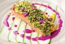 Salmon Recipes / Salmon is a great source of omega-3 fatty acids, which can help maintain a healthy heart, brain, and eyes. #Omega3s: Always a good idea™ #AlwaysOmega3s