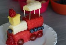 Fun food for kids / by Loves Pinterest