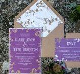 Elegance wedding stationery collection