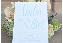 Wedding Stationery Mint Green and Grey