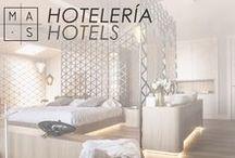 MAS · Hotelería / Imágenes de nuestros proyectos de hotelería donde nuestra idea no es sólo diseñar habitaciones, sino crear espacios de relax y descanso envueltos en el mejor diseño.