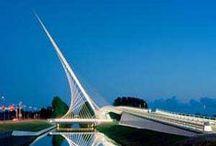 Santiago Calatrava / Spanish Arcitect, sculpter, neofuturistic.