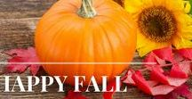 Autumn / Pumpkin spice and everything nice - recipes, home décor, and fall activities to last you the whole season!