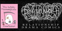"Pena The Unholy - Relationship Drama / Comics & comic art from the book: ""relationship drama"""