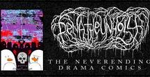 "Pena The Unholy - The Neverending Drama / Comics & comic art from the book: ""The Neverending Drama"""