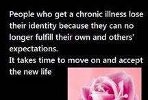 INVISIBLE ILLNESSES: FIBROMYALGIA, CHRONIC PAIN, LUPUS, MS, ARTHRITIS, ETC. / by Tammy Howell