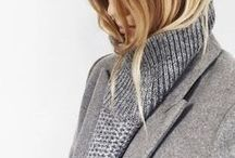 style f/w / minimalist fall/winter inspiration: colors, silhouettes, textures, details